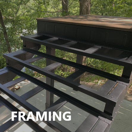Fortress Deck Framing