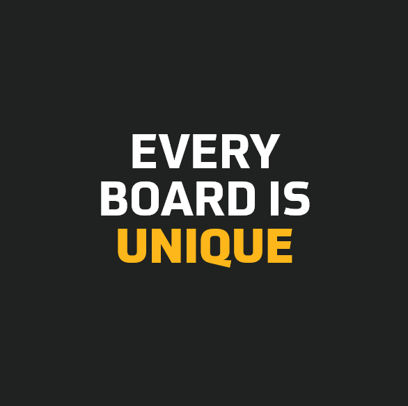 Every Board is Unique