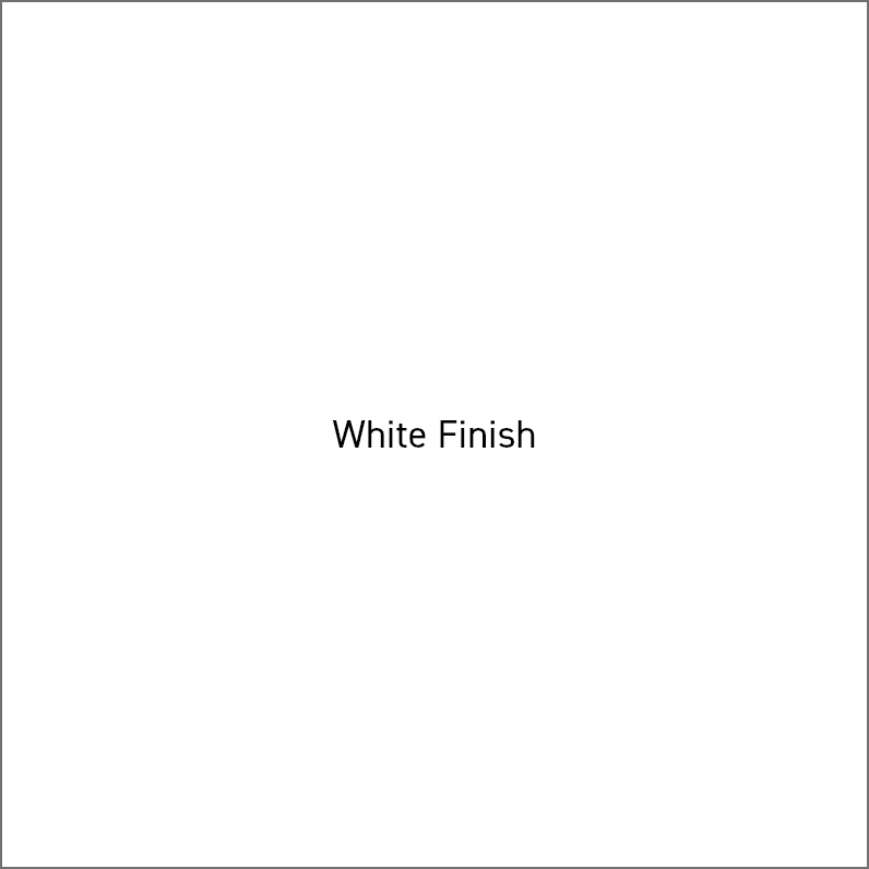 White Finish